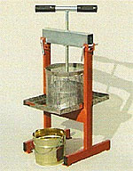 Heather honey press